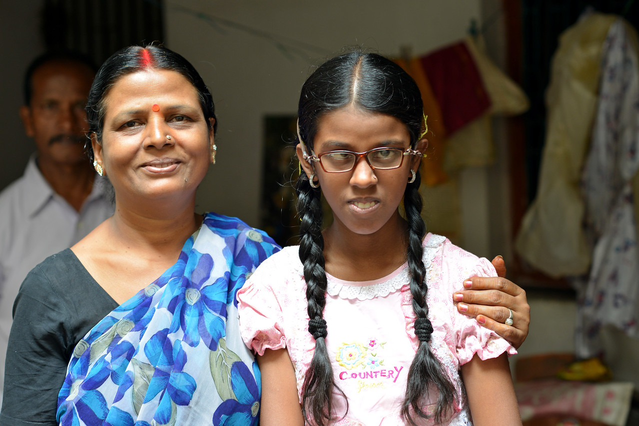 With the help of the training received from Nav Bharat Jagriti Kendra (NBJK), this young girl now not only can communicate but also goes on her own to the school. Her mother and father now see her with a new perspective.<br /> <br /> Nav Bharat Jagriti Kendra (NBJK) was established in 1971 by four engineering graduates who <br /> were sensitive to the causes of disparity, exploitation and poverty with an aim to <br /> establish a just society. Today they are the leading non-profit organization in Jharkhand <br /> running educational institution and health facilities.