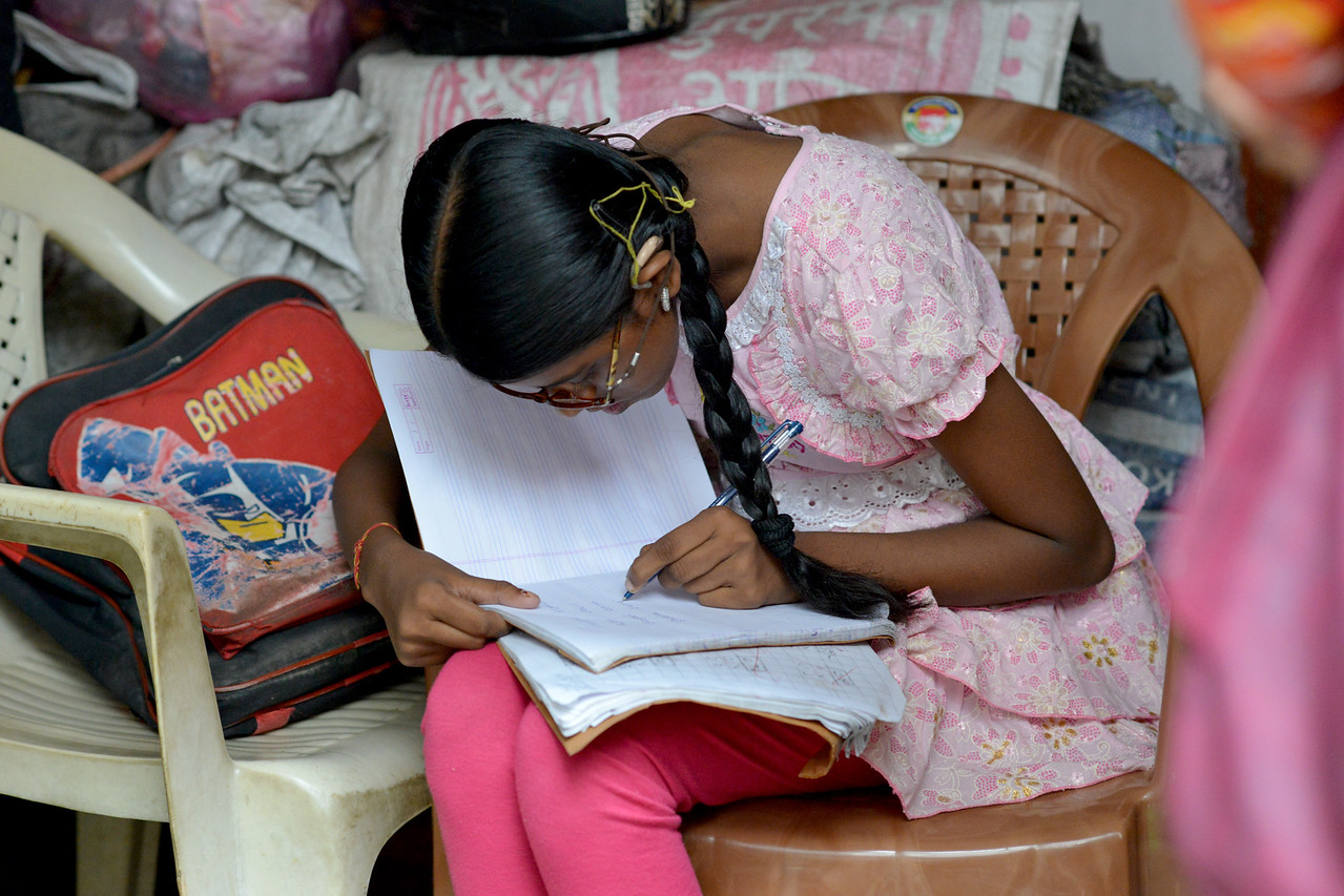 With the help of Nav Bharat Jagriti Kendra (NBJK), and the everyday activity training this young girl now not only can communicate but also goes on her own to the school.<br /> <br /> Nav Bharat Jagriti Kendra (NBJK) was established in 1971 by four engineering graduates who <br /> were sensitive to the causes of disparity, exploitation and poverty with an aim to <br /> establish a just society. Today they are the leading non-profit organization in Jharkhand <br /> running educational institution and health facilities.