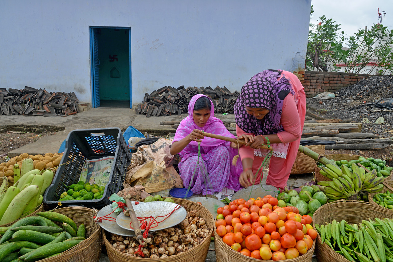 Sakina is a girl with 100% visual impairment. She was trained by Nav Bharat Jagriti Kendra (NBJK) and her everyday activity skills have improved so much that she can go to the market and sells vegetables along with her family. By touch, she can identify the currency and vegetables that are sold which has given her enourmous self confidence.<br /> <br /> Nav Bharat Jagriti Kendra (NBJK) was established in 1971 by four engineering graduates who <br /> were sensitive to the causes of disparity, exploitation and poverty with an aim to <br /> establish a just society. Today they are the leading non-profit organization in Jharkhand <br /> running educational institution and health facilities.