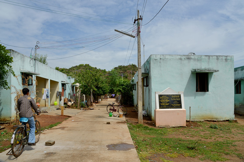 Colony - community living.<br /> Rising Star Outreach of India, Kancheepuram District, Tamil Nadu, India