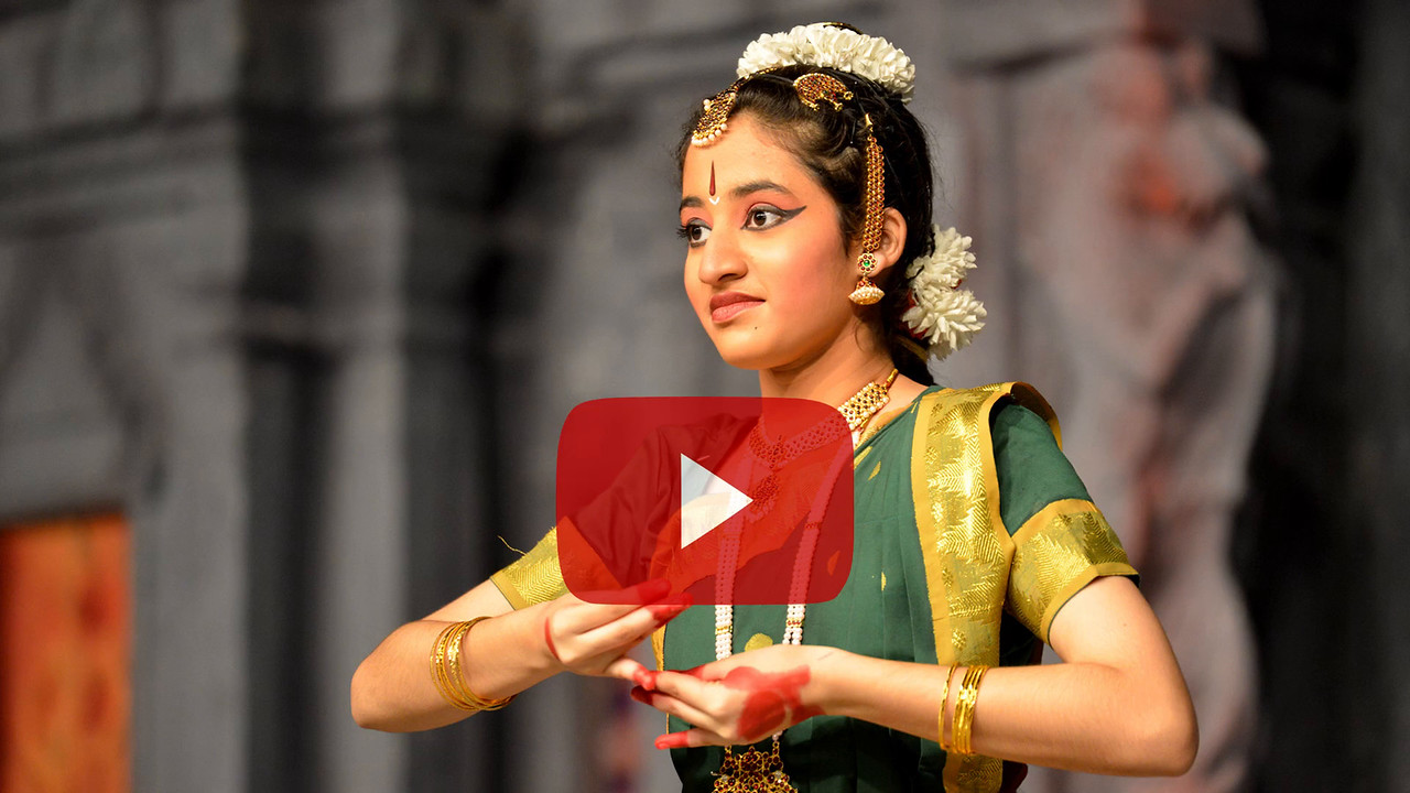 "Short video clip of Nataraja Arts Academy Students of Guru Sirisha,  Bangaluru at Chidambaram Natyanjali Dance Festival 2015 held at Chidambaram in February 2015. <br /> The festival is known for its serenity and uniqueness of the devotion of the dancers dedicating their ""Natya"" (Dance) as ""Anjali"" (Offering) and worship to the Lord of Dance - Lord Nataraja (Shiva)."