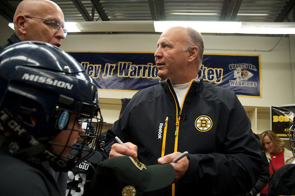 Claude Julien coaches squirts
