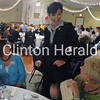 Frances Wilke (left) and Nancy Cousins (right) talk to Iowa Lt. Gov. Kim Reynolds during the annual Clinton County Republicans fall event. - Scott Levine/Clinton Herald