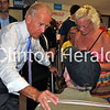 Biden visited with individual supporters for more than 20 minutes during a grassroots event on June 27. Katie Dahlstrom/Clinton Herald
