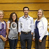Camanche School District welcomes eight new teachers including (from left) Andrew Schnoor, Maddy Schneeberger, Karen Stephan, Samantha Moller, David Wilkinson, Amber Griswold, Maggie Konecne and Todd Borrison. • Natalie Conrad/Clinton Herald