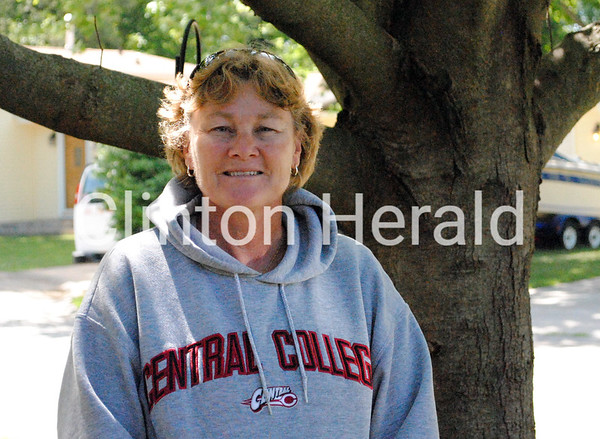 Barb Brondyke entered CHS in 1978 ready to teach as well as coach volleyball and tennis and found a full roster of women's sports. If she had arrived nine years earlier, Brondyke would have found no interscholastic teams, only an intramural group called the Pollywogs, which did exhibition synchronized swimming, and the pep squad. • Katie Dahlstrom/Clinton Herald