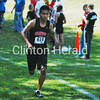Emmanuel Marcos-Teles runs to a fourth-place finish Saturday at the Clinton Classic. - Kurt Ritzman/Clinton Herald