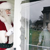 "Santa Claus visits with Dorothy Lange while helping deliver meals to home-bound residents in Effingham. Many volunteers who volunteer for Meals-on-Wheels have been doing it for many years, including Santa. ""You feel good helping other people out,"" he said. Judy Dorn, a volunteer for the program, said meals are delivered to around 70 homes, not including those that come to the Ron Diehl Center to eat."