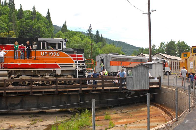 Dunsmuir Railroad Days, June 12, 2011 -- Photo by Robert McClintock (c) 2011 by Robert McClintock