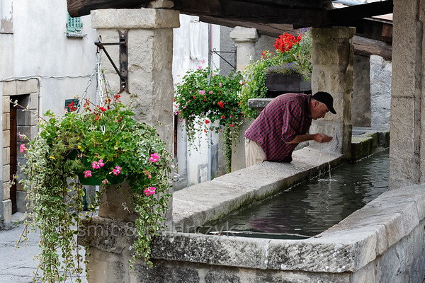 Washing place in Annot.
