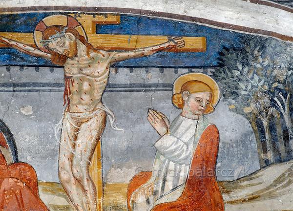 [FRANCE.ALPSSOUTH 29815] 'Crucifixion at Venanson.'