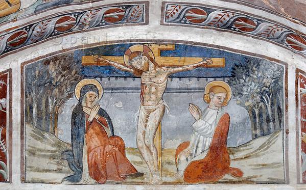 [FRANCE.ALPSSOUTH 29814] 'Crucifixion at Venanson.'