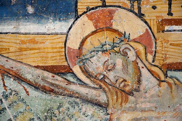 [FRANCE.ALPSSOUTH 29813] 'Crucifixion at Venanson.'