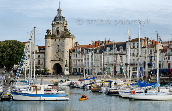 [FRANCE. ATLANTIC 30073] 'Old Harbour of La Rochelle.'