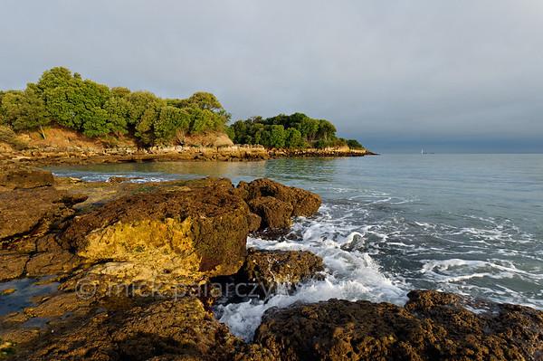 [FRANCE. ATLANTIC 30108] 'Northern shore of Ile d'Aix.'