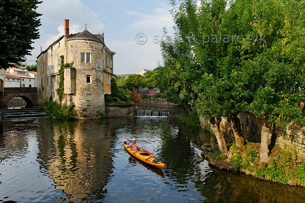 [FRANCE. ATLANTIC 30008] 'Sèvre in old centre of Niort.'