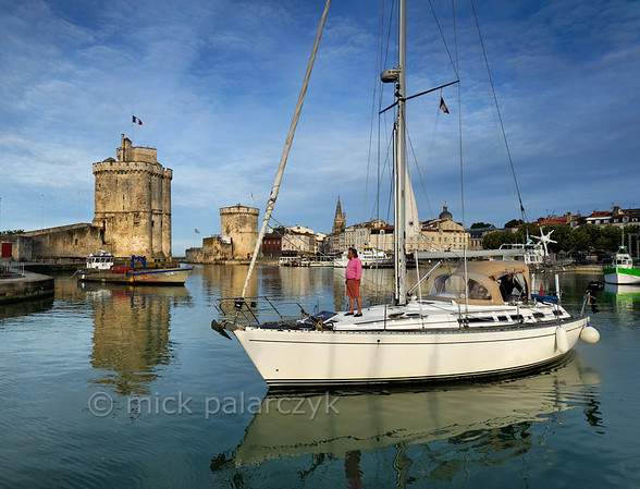 [FRANCE. ATLANTIC 30067] 'Old Harbour of La Rochelle.'