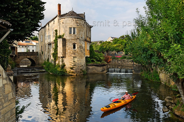 [FRANCE. ATLANTIC 30010] 'Sèvre in old centre of Niort.'