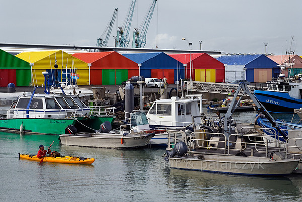 [FRANCE. ATLANTIC 30066] 'Fishing port of La Rochelle.'