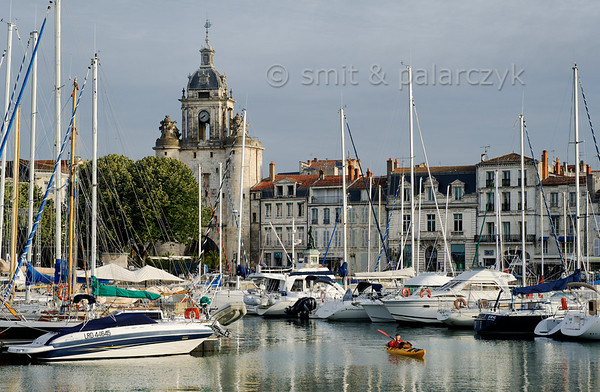 [FRANCE. ATLANTIC 30072] 'Old Harbour of La Rochelle.'