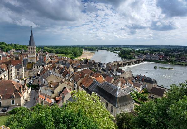View of La Charité-sur-Loire.