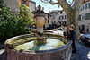 [FRANCE.PROVENCE 11229] 'Fountain in Vaison-la-Romaine.'