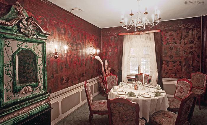 [GERMANY.SACHSEN 7320] 'Room of the Prince.' The 'Prinzenzimmer' in Hotel-Restaurant Waldschänke in Moritzburg near Dresden. Photo Paul Smit.