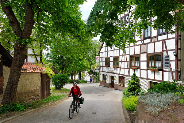 Cycling in Mühlberg.
