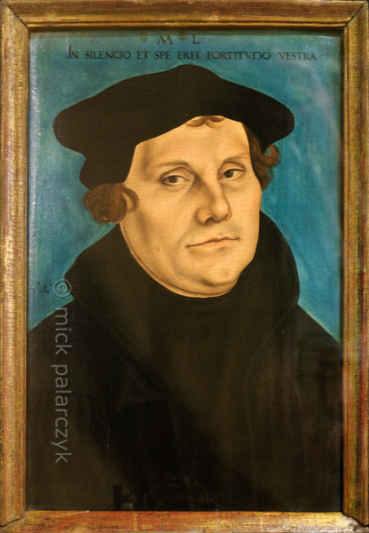 Portrait of Luther by Cranach