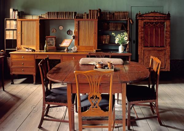 Study in Goethe's House in Weimar.