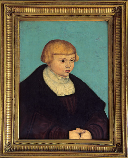 Cranach painting in Goethe's House in Weimar