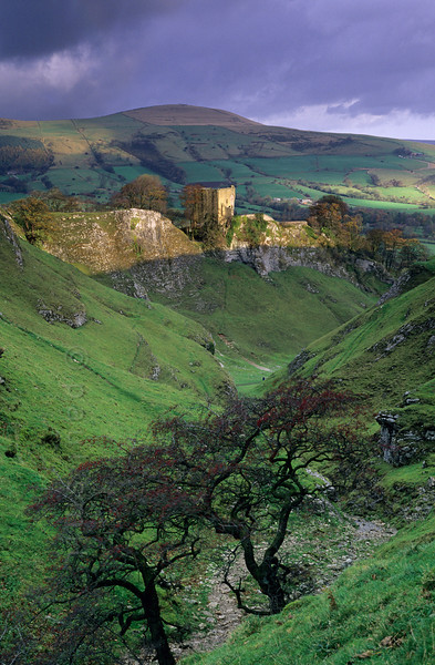 Peveril Castle near Castleton.