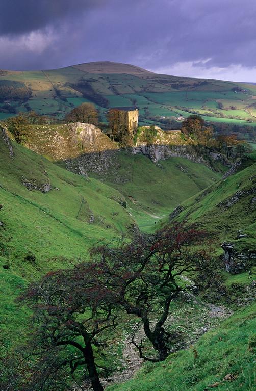 Peveril Castle near Castleton.
