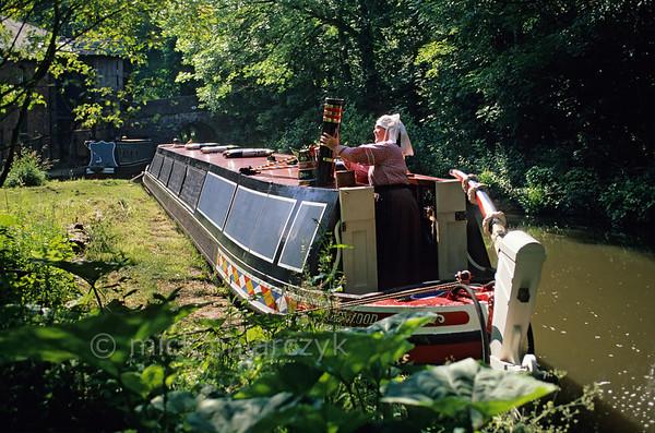 Narrow boat.