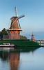 HOLLAND.FRIESLAND 30270] 'Windmills in Dokkum'.