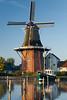 HOLLAND.FRIESLAND 30273] 'Windmill 'De Zwaluw' in Birdaard'.