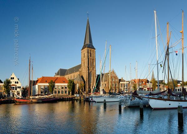 [HOLLAND.FRIESLAND 30237] 'Zuiderhaven in Harlingen.'