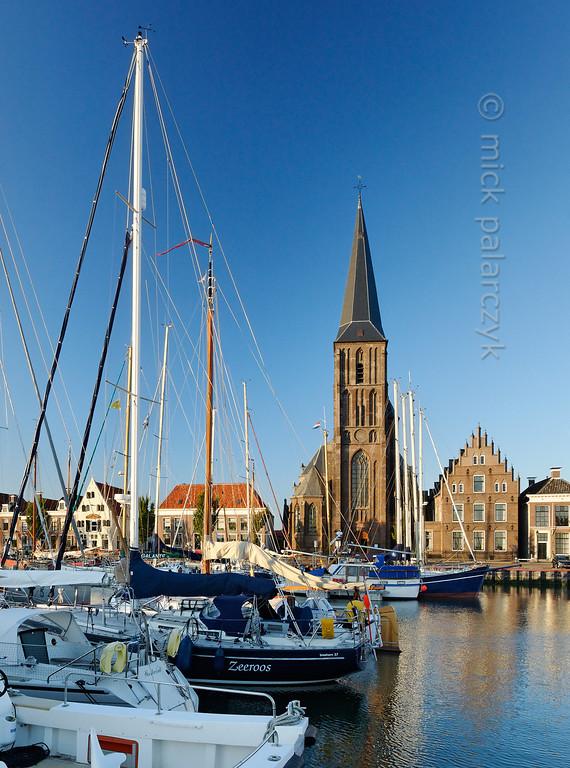 [HOLLAND.FRIESLAND 30236] 'Zuiderhaven in Harlingen.'