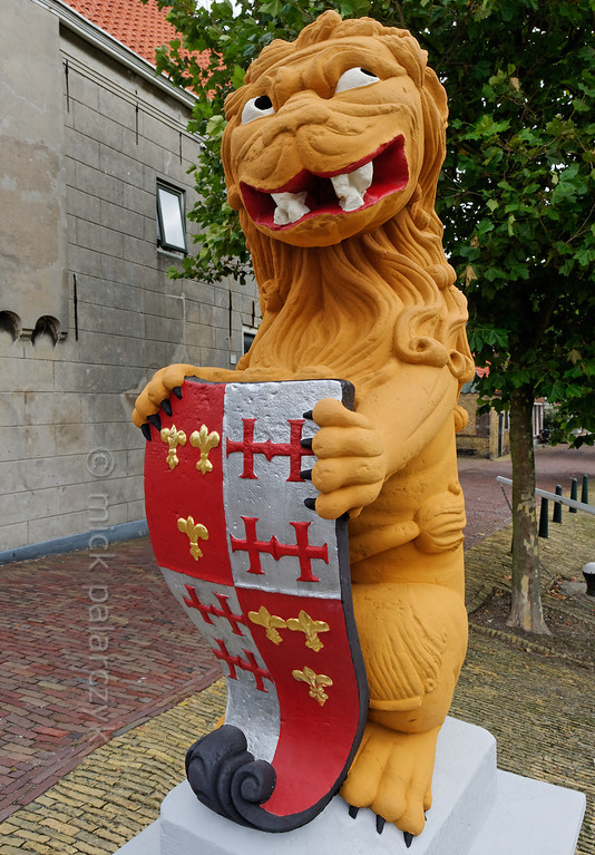 [HOLLAND.FRIESLAND 30241] 'Coats of arms of Harlingen.'