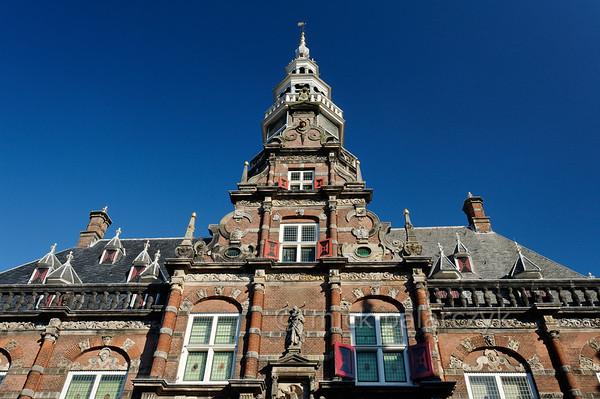 [HOLLAND.FRIESLAND 30230] 'Town hall of Bolsward.'