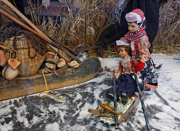 [HOLLAND.FRIESLAND 30207] 'Skating Museum in Hindeloopen.'