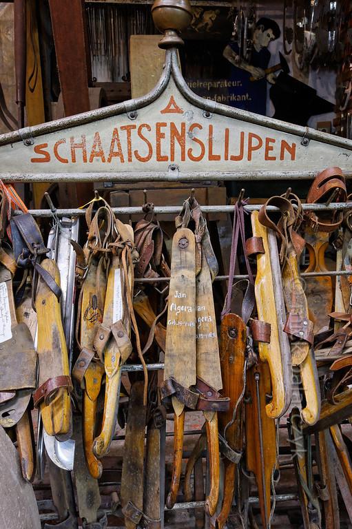 [HOLLAND.FRIESLAND 30206] 'Skating Museum in Hindeloopen.'