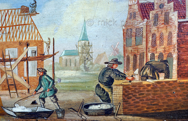 [HOLLAND.FRIESLAND 30224]'Guild's bier of the building trade in Workum.'