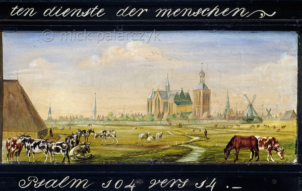 [HOLLAND.FRIESLAND 30211] 'Guild's bier of farmers in Workum.'