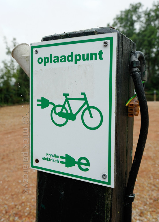 HOLLAND.FRIESLAND 30291] 'Charging station for electrical bicycle'.