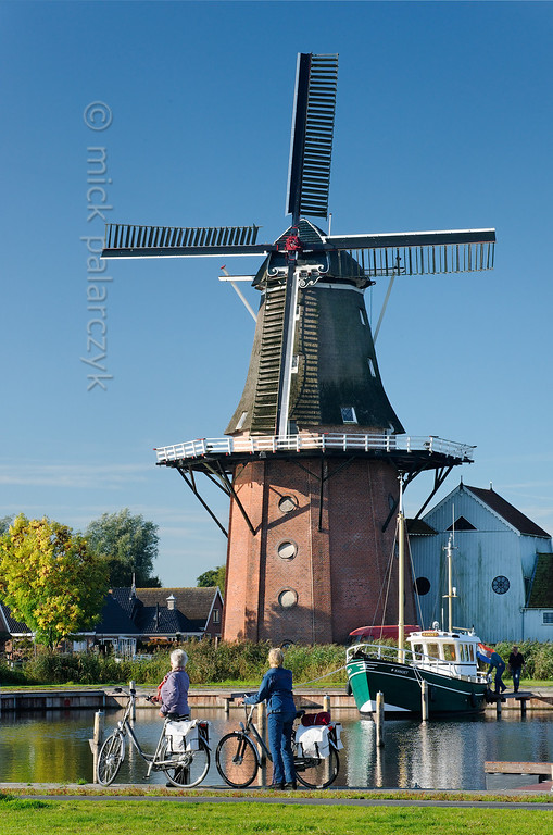 HOLLAND.FRIESLAND 30273a] 'Windmill 'De Zwaluw' in Birdaard'.