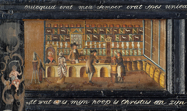 [HOLLAND.FRIESLAND 30218] 'Guild's bier of chemists in Workum.'