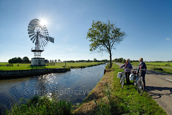 [HOLLAND.FRIESLAND 30142] 'Windpump near Weidum.'