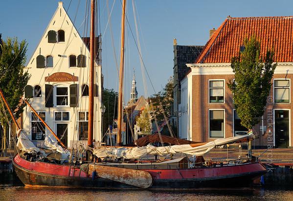 [HOLLAND.FRIESLAND 30238] 'Zuiderhaven in Harlingen.'