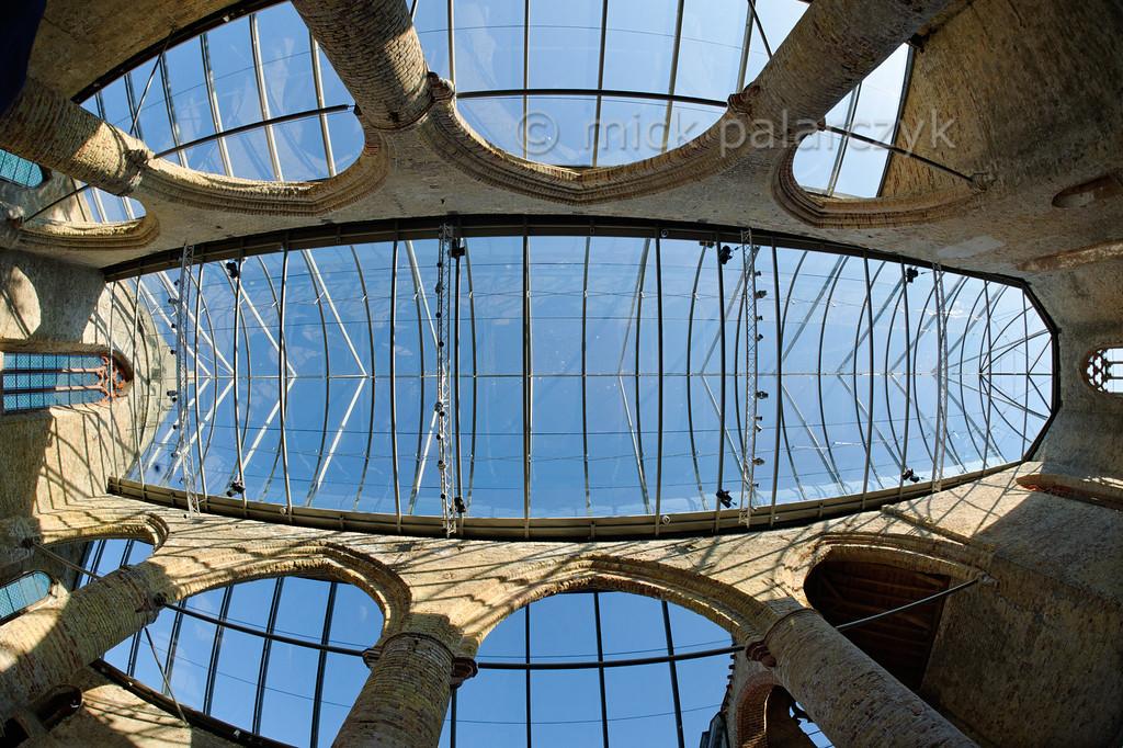 [HOLLAND.FRIESLAND 30232] 'Fisheye view of Broerekerk in Bolswar